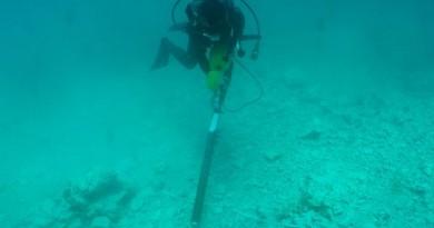 磁気探査,潜水探査